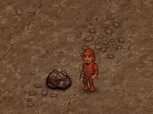 Горно-железорудное месторождение в Криопад с киркой
