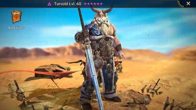 Уровневый список варваров Raid Shadow Legends