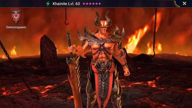 Уровневый список Raid Shadow Legends Demonspawn