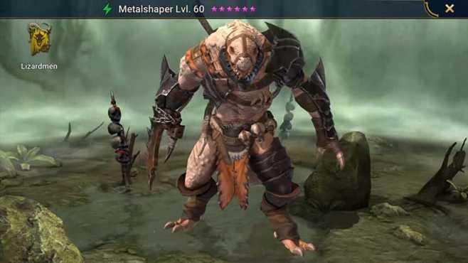 Уровневый список ящеров Raid Shadow Legends
