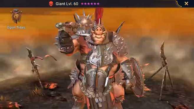 Уровневый список Raid Shadow Legends Ogryn Tribes
