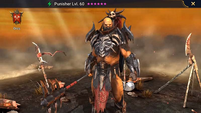 Уровневый список орков Raid Shadow Legends