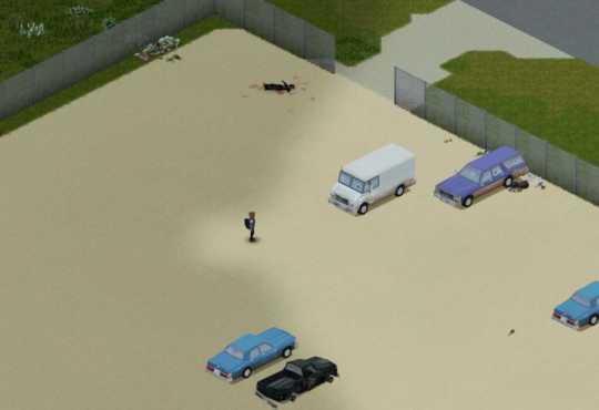 Свалка Риверсайда в Project Zomboid Build 41