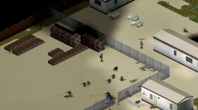 База строительной площадки в project zomboid