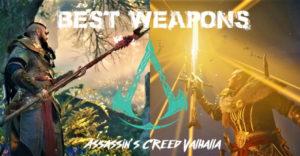 Assassin's Creed Valhalla: 15 лучших видов оружия, рейтинговое