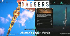 Assassin's Creed Valhalla: Гайд по всем кинжалам