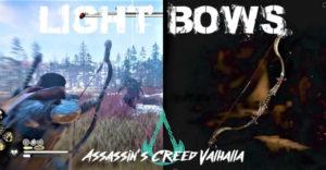Assassin's Creed Valhalla: Гайд по лучшим легким лукам