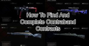 Call of Duty Warzone: как найти и завершить контракты с контрабандой