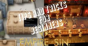 Empire Of Sin: советы и хитрости для начинающих