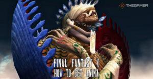 Final Fantasy 10: Как получить аниму