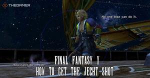 Final Fantasy 10: Как сделать снимок Jecht