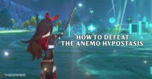Genshin Impact как победить Анемо-ипостась