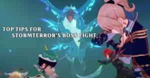 Genshin Impact главные советы по борьбе с боссом Штормтеррора