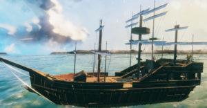 Как построить собственный корабль в Valheim (мод ValheimRAFT)
