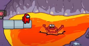 Как играть в ролевой мод Scary Elmo в Among Us