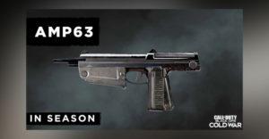 Как разблокировать пистолет AMP63 в Call of Duty: сезон холодной войны 3