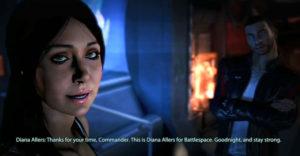 Mass Effect 3: Как развлечься с Дайаной Аллерс