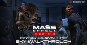 Mass Effect: Bring Down The Sky Прохождение
