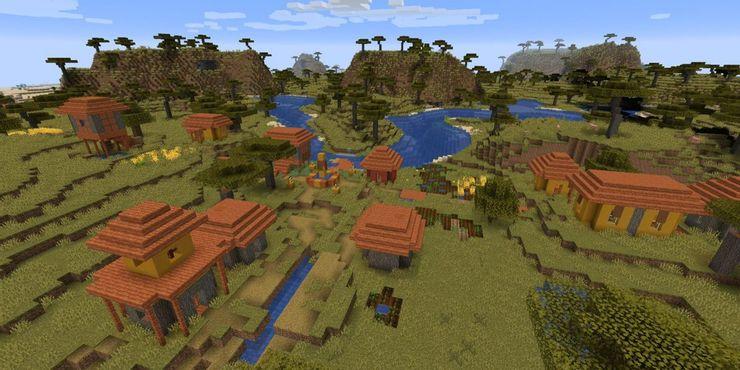 Майнкрафт: как построить деревню и заселить ее