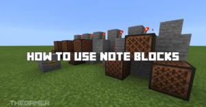 Майнкрафт: как использовать блоки заметок