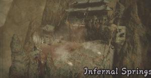 Monster Hunter Rise: как открыть секретную арену, Адские источники