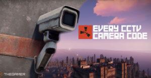 Rust: каждый код камеры видеонаблюдения