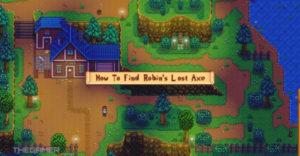 Stardew Valley: как найти потерянный топор Робина