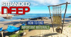 Stranding Deep: как найти важные материалы