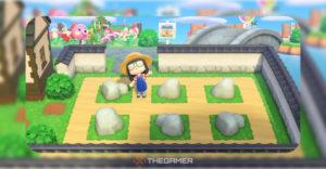 Animal Crossing: как сделать сад камней