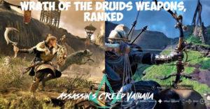 Assassin's Creed Valhalla Wrath Of The Druids: все новое оружие, ранговое