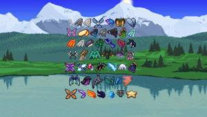 Лучшие крылья в Terraria Mobile и как их получить