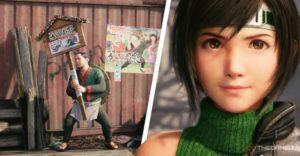 Final Fantasy 7 Remake Intergrade: Episode Intermission Руководство по плакату Happy Turtle