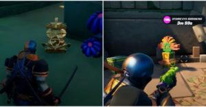 Fortnite: где найти артефакты в скрытой крепости и коралловом замке