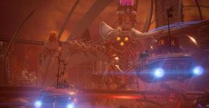 Как победить Имперский Энергетический Костюм в Ratchet & Clank: Rift Apart (Руководство для боссов)