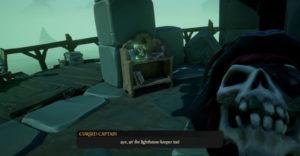 Как освободить проклятого капитана в Sea of Thieves