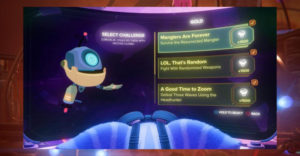 Как разблокировать серебряные и золотые испытания Battleplex в Ratchet & Clank: Rift Apart