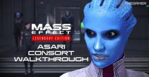 Mass Effect: прохождение Asari Consort