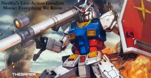 Live Action Gundam Adaptation от Netflix: что мы знаем до сих пор