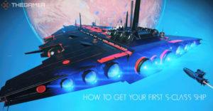 No Man's Sky Как получить свой первый корабль S-класса