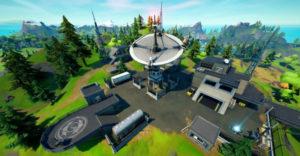 Где найти спутниковые станции в Fortnite Season 7