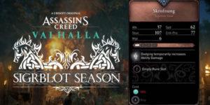 Assassin's Creed Valhalla — Как получить одноручный меч (Skrofnung)