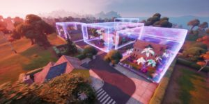 Fortnite: все зоны с низкой гравитацией