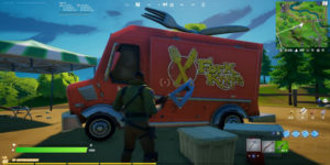 Fortnite: как сажать саженцы на корточках, фургон с вилочным ножом или FN Radio