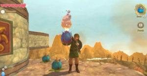 Как получить сумку с бомбой в Legend of Zelda: Skyward Sword HD