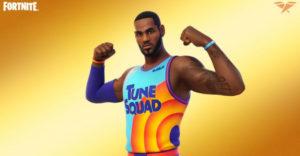 Как разблокировать экипировку LeBron James Tune Squad в Fortnite