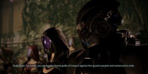 Mass Effect 2: все возможные исходы испытания Тали