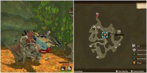Monster Hunter Stories 2: Где найти потерянных детей в лесу