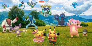 Pokemon GO Fest — Возрождение среды обитания на весь день 1