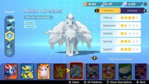 Гайд по сборке Pokemon Unite Alolan Ninetales