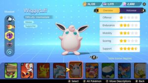 Гайд по сборке Pokemon Unite Wigglytuff